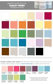 Decoart Americana Acrylic Paint Color Chart Folk Art Paint Color Chart Bedowntowndaytona Com