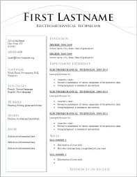 Resume Layout Examples Custom Resume Styles Examples Andaleco