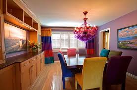 Colorful Dining Room Tables Custom Design Ideas