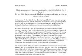 homework help science popular admission essay ghostwriter othello essay character analysis of iago in the shakespeare play othello research paper example topics and