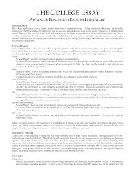 college essay format college entrance essay example org view larger