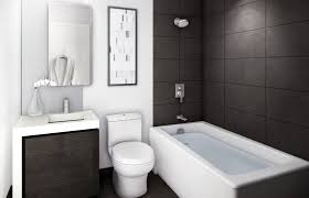 Bathroom Design Modern Bathroom Ideas Gallery With Glass Subway - Bathroom small