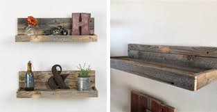shelve. These rustic shelves made from Reclaimed Wood ...