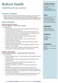 Payroll Accountant Resume Samples Qwikresume