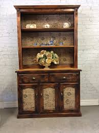 Hutch Kitchen Furniture Reclaimed French Provincial Industrial Style Kitchen Dresser