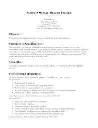 Fast Food Manager Resume Mmventures Co