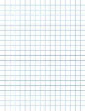 1 8 inch graph paper school smart graph paper pads 1 2 inch rule 50 sheets pack of 12