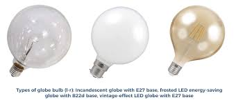 led globe lightbulbs have been designed to look like the incandescent bulbs they supersede they classic shape and as technology develops light bulb sizes e88 bulb