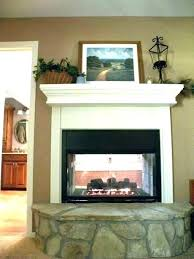 double sided gas fireplace insert s two corner log inserts 2