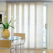 sliding patio door blinds. Panel Track Blinds For The Balcony Door - Would Be Smart To Have Them Split In Sliding Patio