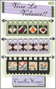 Home Dec patterns | Vanilla House Designs - Part 2 Stained glass ... & Home Dec patterns | Vanilla House Designs - Part 2 Stained glass or quilted  valance Adamdwight.com