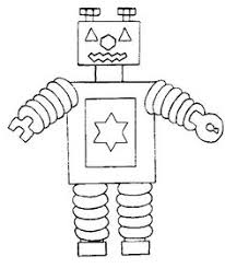 Small Picture Robot coloring pages Beep Beep Robot Blog and Craft