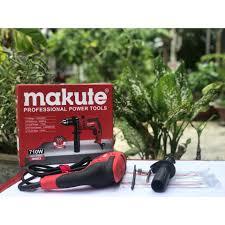 Máy khoan tường Makute ID003 710w , dùng gia đình , thợ quảng cáo . điện  nước - Hàng chính hãng