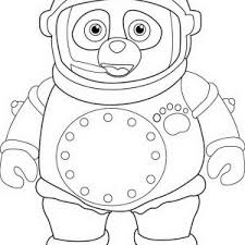 Small Picture Dotty in Special Agent Oso Rocket Coloring Page Dotty in Special