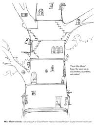 Small Picture Magic House Coloring PagesHousePrintable Coloring Pages Free