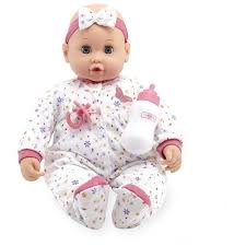 You & Me 18 inch Sweet Dreams Baby Doll - Caucasian with White ...