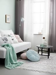 ... Living Room Grey And Green Living Room Match Your Decor Pieces With  Mint Walls To Create