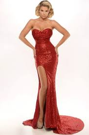 <b>Red Mermaid Prom</b> Dresses | <b>Mermaid</b> Evening Gowns - UCenter ...