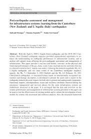 pdf resilience and fragility of the telecommunication network to pdf resilience and fragility of the telecommunication network to seismic events evidence after the kaikoura earthquake