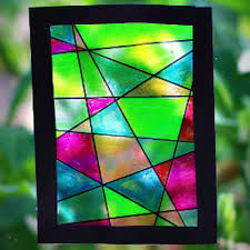 stained glass marker