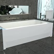 kohler bellwether tub alcove bathtub with skirt for 3 wall k 838 0
