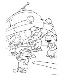 Small Picture Little Einsteins And Rocket Coloring Pages Einsteins Coloring