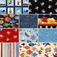 93 best A&C: Quilts - fabrics, colorways, etc images on Pinterest ... & Pirates by Makower UK for Andover Fabrics Adamdwight.com