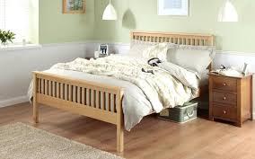 bed frame wooden bed frames uk silentnight dakota oak wooden bed frame options