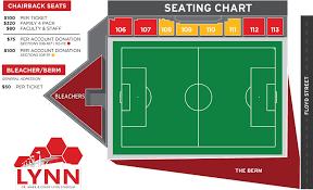 lynn stadium seating chart