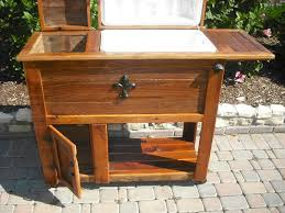 wooden deck cooler plans ideas