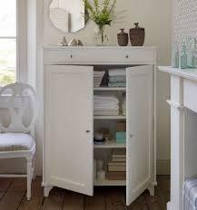 Bathroom Drawers Cabinets Impressive White Bathroom Storage Cabinet Creative Bathroom