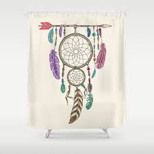 Big Dream Catcher For Sale Big Dream Catcher Shower Curtain by thirstyfly Society100 73