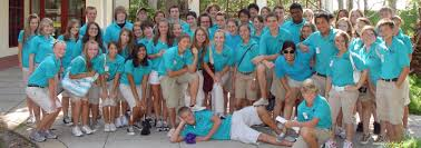 savy volunteers at moody gardens