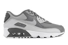 black and white nike air max shoes. nike air max 90 ltr (gs) (4 big kid m) black and white shoes w