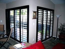 sliding glass door plantation shutters for doors reviews
