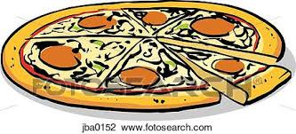 whole pizza clipart. Beautiful Clipart Clip Art  Whole Pizza Fotosearch Search Clipart Illustration Posters  Drawings Throughout Whole Pizza Clipart