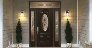 doors fiberglass interior doors fiberglass entry doors s black front door with oval glass panel