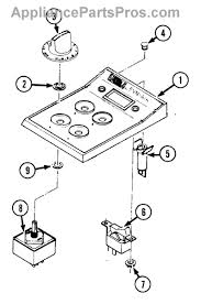whirlpool 700855k surface unit switch kit appliancepartspros com part diagram