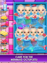 mermaid salon make up doctor kids games free screenshot 10