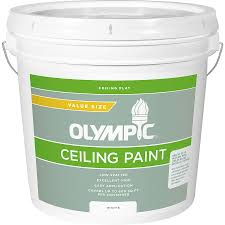 Olympic Ceiling White Flat Latex Interior Paint (Actual Net Contents:  248-fl oz