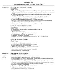 Test Engineer Software Resume Samples Velvet Jobs