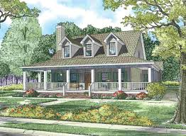 wrap around porch house plans rustic craftsman ranch small country with porches modern fa