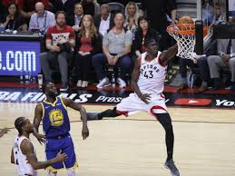 Siakam leads offensive charge as Raptors hold off Warriors to take Game 1  of NBA Finals