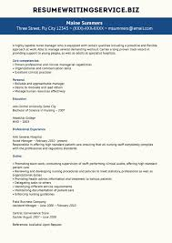 resume writing service here is a nice example of a nurse manager resume if you want to apply for the post of manager in nursing platform then you must submit a good resume to