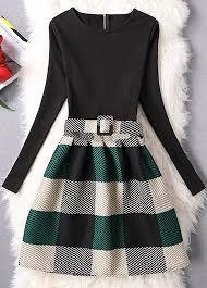 2017 New Style Fashion Ladies Women Long Sleeve Santa Printing Christmas Party Dresses Long Sleeve