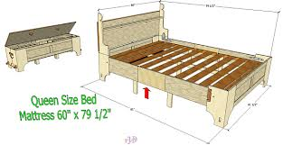 Bed In A Box Plans 100th Anniversary Pinterest Queen Size Bedinabox After Several Requests From Interested Visitors To The Site And Previous Clients Have Finally Completed Plan For