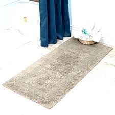 brown and blue bathroom rugs long nice look 2 extra reversible bath rug narrow light sets
