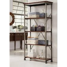 Home Styles Five Shelf 38 in. W x 76 in. H x 16 in