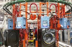 appliances louisville ky. Delighful Louisville GE Frontload Laundry Production Line With Appliances Louisville Ky E