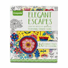 amazon crayola elegant escapes coloring book hallmark color books for s